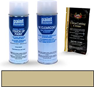 PAINTSCRATCH Caribou Metallic H5/M7335 for 2017 Ford F-Series - Touch Up Paint Spray Can Kit - Original Factory OEM Automotive Paint - Color Match Guaranteed