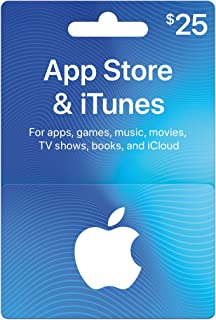 physical itunes gift card