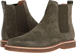 Suede Chelsea Boot w/ Crepe Sole