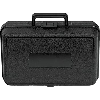 """Plastic Plastic Carrying Case with Foam, 12"""" x 8"""" x 3 3/4"""""""