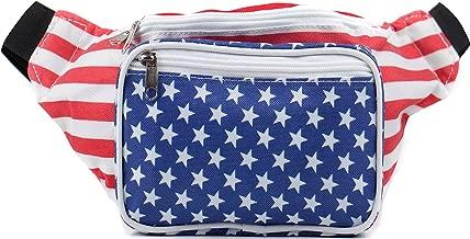 american flag fanny packs