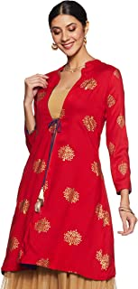 Rangriti Women's Velvet Jacket