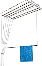 Rainbow Drywell Luxury 6 Pipes 8 Feet Stainless Steel Cloth Dryer/Clothes Hanger/Rust Proof