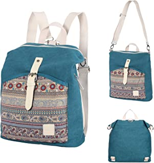 Casual Backpack Purse Women Girl Canvas School Rucksack Bookbag Daypack Travel Bag