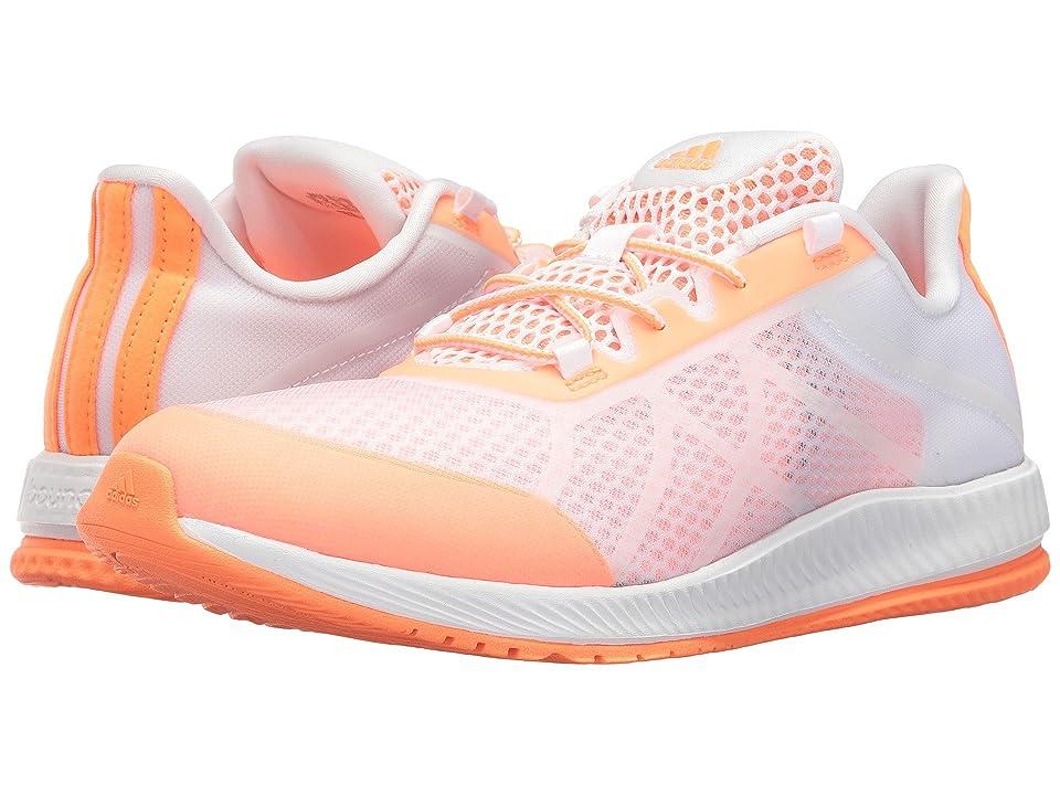 adidas Gymbreaker Bounce (Footwear White/Easy Orange) Women