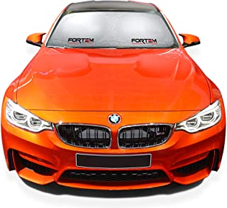Car Windshield Sunshade - Keeps Out UV Rays Protects Vehicle Interior and Keeps it Cool - Multiple Sizes (Small ( 59 x 27....