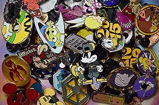 Disneyland World Trading pin lot 50 Booster Hidden Mickey Princess Donald More-by NANSY