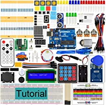 Freenove RFID Starter Kit V2.0 with R3 Board (Compatible with Arduino IDE), 252 Pages Detailed Tutorial, 198 Items, 49 Projects, Solderless Breadboard
