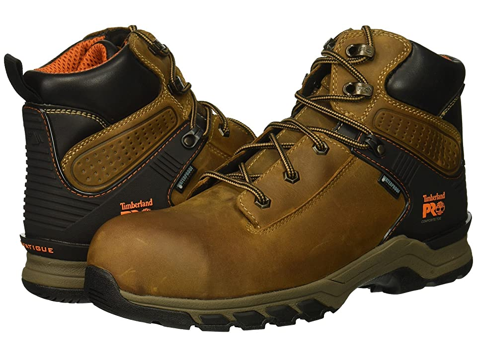 Timberland PRO Hypercharge 6 Safety Toe WP (Brown Distressed) Men