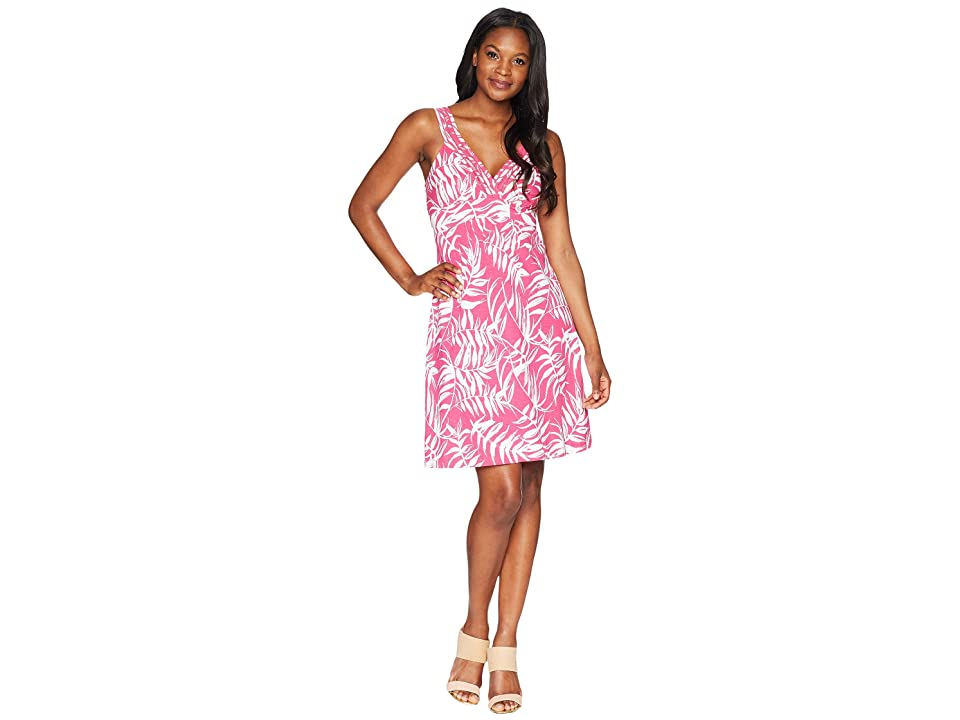 Tommy Bahama Fronds with Benefits Sundress (Bright Blush) Women