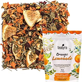 Sponsored Ad - Tealyra - Orange Lemonade - Hibiscus - Eucalyptus - Lemongrass - Herbal Fruity Loose Leaf Tea Blend - Vitam...