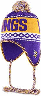 NFL Men's OTS Abenaki Sherpa Knit Cap with Pom