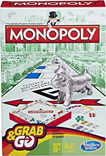 Hasbro Monopoly B10028020 Grab and Go Game