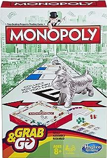 Hasbro Gaming Monopoly Grab & Go Game