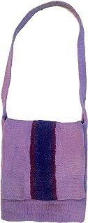 GURU SHOP Filztasche im Retrostyle - Rot, Herren/Damen, Wolle, 38x30x4 cm, Alternative Umhängetasche, Handtasche aus Stoff