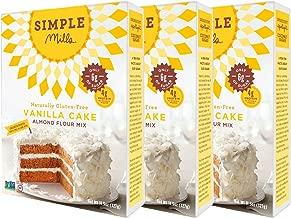 Simple Mills Almond Flour Mix, Vanilla Cupcake & Cake, 11.5 oz