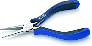 Snipe Nose Pliers 6.1/8''   schmitz 4411HS22   straight, long, smooth jaws   ESD safe - Dissipative   Hightech tool for professionals   Made in Germany - Solingen