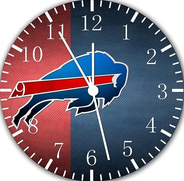 Borderless Bills Frameless Wall Clock E195 Nice For Decor Or Gifts