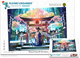 Playing Grounded Limited Edition Jigsaw Puzzle 1000 Pieces Welcoming All Wonders Anime Collectible Anime Puzzle Fantasy Puzzle Japanese Jigsaw Puzzle Christmas Puzzle