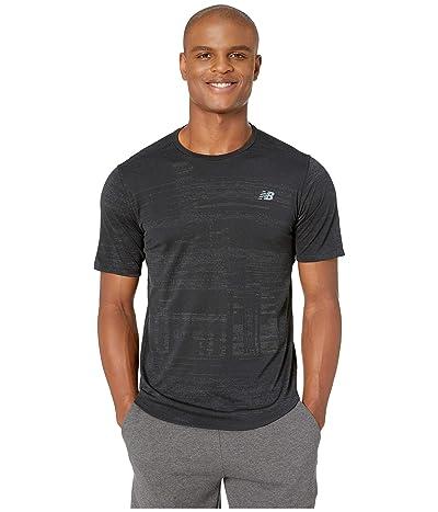New Balance Q Speed Breathe Short Sleeve (Black) Men