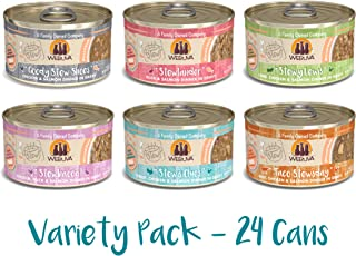 Weruva Classic Stews Variety Pack, 2.8 Ounce Cans Pack of 24