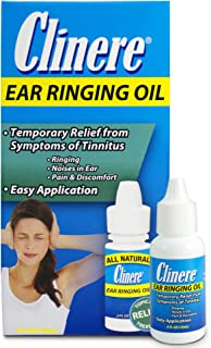 ProVent Ear Ringing Oil Relief, Ear Drops to Help Stop Ringing in the Ears, Tinnitus Relief, Noises in Ears , Pain and Dis...