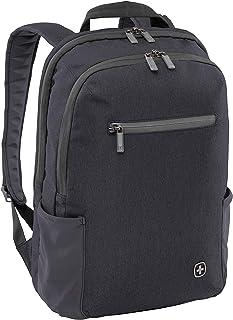 Wenger CityFriend mochila portátil, portátiles hasta 16″, tabletas hasta 12,9″, 19 l, mujer, hombre, negocios, universidad, escuela, viajes, negro