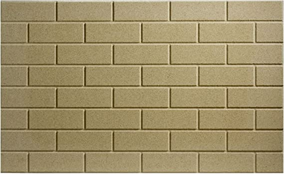 Vermiculite High Density Stove Brick 230mm x 220mm x 20mm DIY You Cut to Size