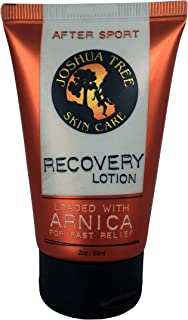 Joshua Tree Skin Care 2 oz. After Sport Recovery Lotion Loaded with Organic Arnica (Travel Size)