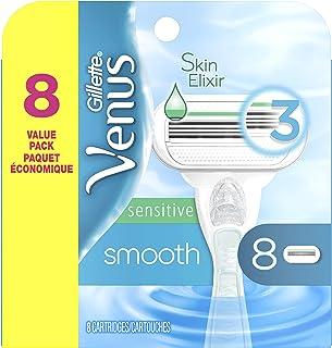 Gillette Venus Smooth Sensitive Women`s Blade - 8 Refills