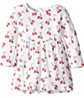 Stella McCartney Kids - Long Sleeve Cherries Dress (Infant)