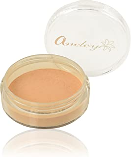 Pure Loose powder mineral foundation natural certified organic vegan cruelty free preservative free no parabens skin soothing formulation sweat proof breathable (Cream)