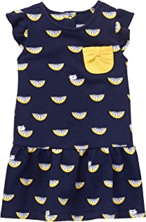 Gymboree Baby Girls Short Sleeve Lemon Printed Dress