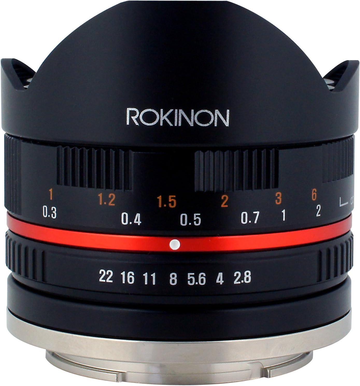 Rokinon 8 Mm F2 8 Umc Fisheye Ii Objektiv Für Fuji X Kamera