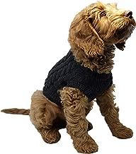 Funky Junque Pet Sweater Dog Jacket Warm Winter Stretch Knit Puppy Coat Vest
