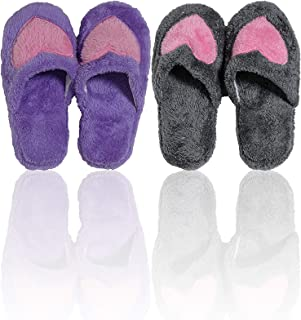 Basico Indoor Slipper Fuzzy Cozy Winter Fleece Non Slip Home Slip on Shoes Gift Idea