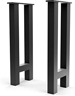 Steel Forged DIY Metal Console Legs