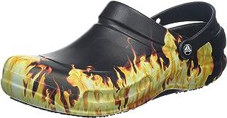 Crocs Unisex Adult Bistro Flames Graphic Clogs