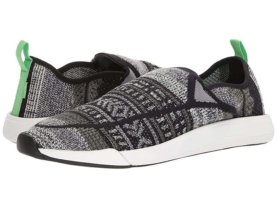 Sanuk Chiba Quest Knit (Black/Grey) Shoes