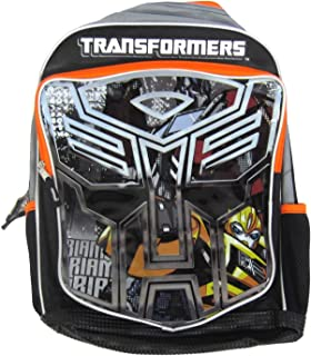 Transformers Bumblebee Optimus Prime Backpack Large 16''