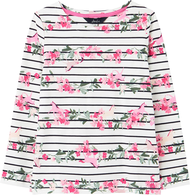 Joules Girl's Harbour Print T-Shirt (Toddler/Little Kids/Big Kids)