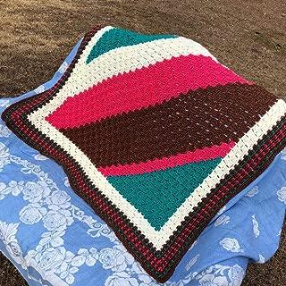 Handmade Soft Afghan Throw Baby Blanket Lapghan