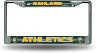 Rico MLB Bling Chrome License Plate Frame