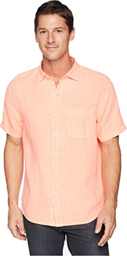 Tommy Bahama Short Sleeve Seaspray Breezer Camp Shirt