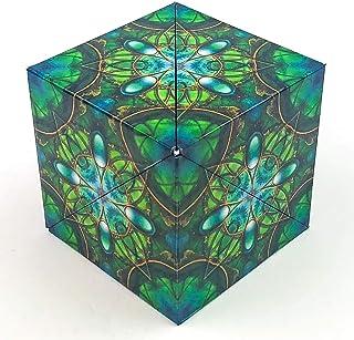 GeoBender Cube - Surfer - Cubo geomètrico, Rompecabezas de Aprendizaje, Juguete geomètrico para niños y Adultos