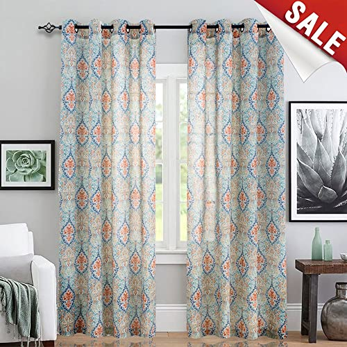 Large Window Curtains Amazon Com