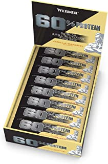 Weider 60% Protein Bar Cookies & Cream 24 x 45 gr. La