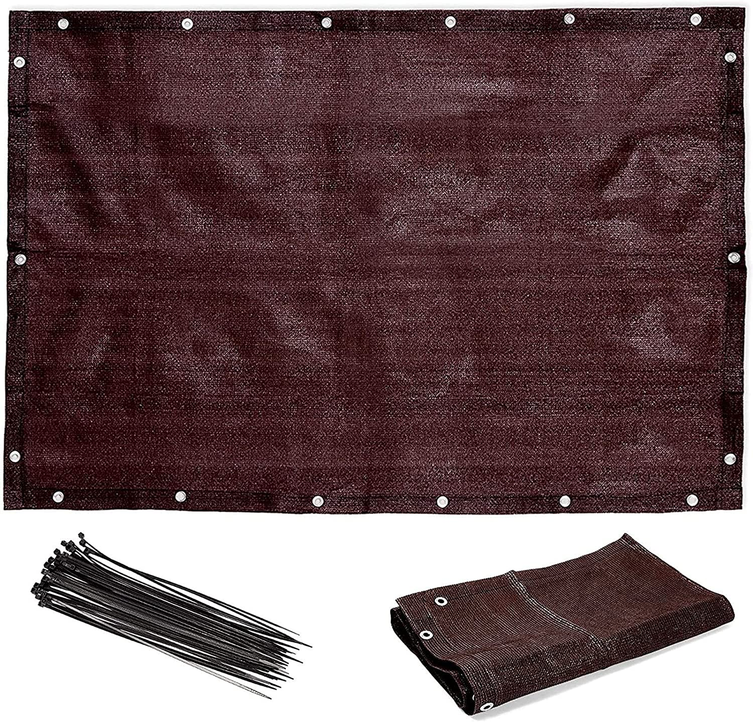 Farmlyn Creek Privacy Outlet SALE Screen Max 43% OFF and Plastic for Patio Zip Ties Balc