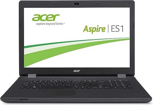 Acer Aspire ES1-711-P3D0 43 9 cm 17 3 Zoll HD Laptop Intel Pentium N3540 2 7GHz 4GB RAM 500GB HDD Intel HD Graphics DVD Win 8 1 mit Bing schwarz Schätzpreis : 300,00 €