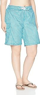 Kanu Surf Womens Plus-Size UPF 50+ Quick Dry Active Prints I Swim Boardshort Board Shorts